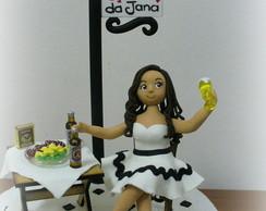 Topo de bolo - Boteco da Jana