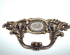 Puxador Al�a Colonial Bronze Pequena