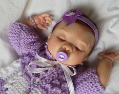 Mini Beb� Reborn Ana Clara 2014. ADOTADA