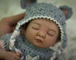 Mini Beb� Reborn Brenda - POR ENCOMENDA