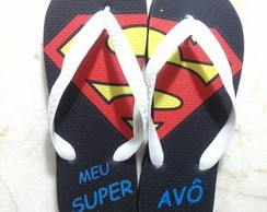 Chinelo do Super Pai / Av� / M�e / Av�