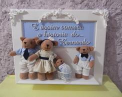 Porta De Maternidade Fam�lia Urso