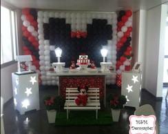 Mesa Proven�al Minnie Vermelha