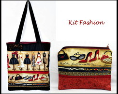 Kit bolsa e n�cessaire fashion