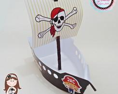 Barquinho Tema Pirata