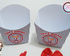 Embalagem Batata Frita Tema Marinheiro