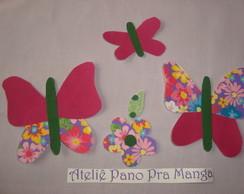 "Aplique ""Efeito borboleta"""