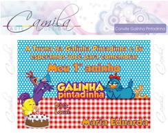 Convite Digital Galinha Pintadinha