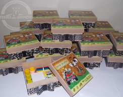 Caixa Mdf Mickey Safari  Kit Pintura