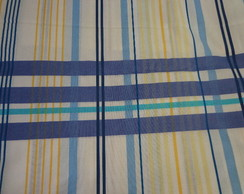 040- Jogo de Len�ol Solt - listra azul