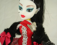 Boneca estilo Monster High Draculaura Re