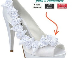 Sapato Peep Toe Noiva - Ref. 287