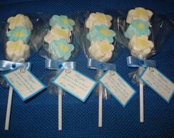 Pirulito de Marshmallow para maternidade