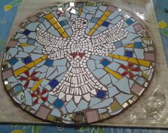 placa prefabricada  com mosaico 60X60 cm