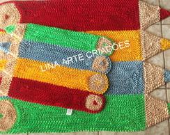 Kit de Tapetes l�pis colorido.