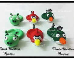 FORMINHA PARA DOCES  BISCUIT ANGRY BIRDS