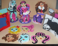 KIT 35 PE�A MONSTER  HIGH
