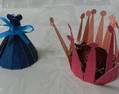 Forminha doce ou mini cupcake
