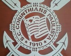 escudo de clubes em mdf