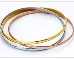Bracelete em A�o Inox Antial�rgico