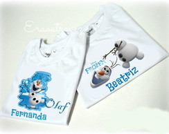 Camiseta frozen Olaf adulto