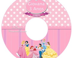 Etiqueta CD As Princesas