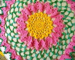 Toalha de mesa Inspira��o com flores