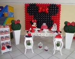 Aluguel Mesa Proven�al Minnie Vermelha