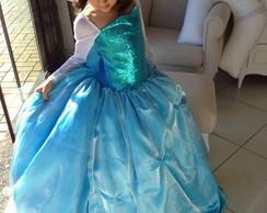 Rainha Elza luxo - Filme Frozen,