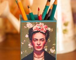 Porta Canetas Frida Kahlo