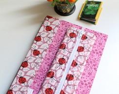 Caderno Joaninha, Estojo e Marcador P�g