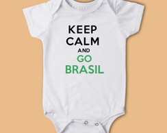 Body Keep Calm Go Brasil