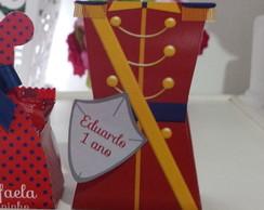 Caixa Farda soldadinho vermelha