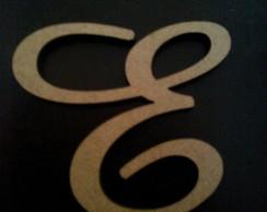 Letra  cursiva Mdf 5cm