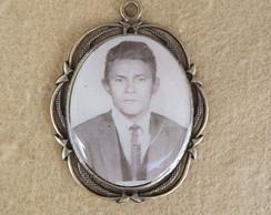 Medalha personalizada barroca