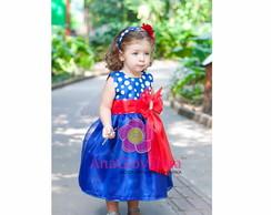 Vestido Galinha Pintadinha Luxo