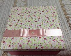 Caixa decorada 15x15 cm
