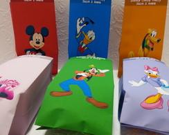 Saquinho Para Pipoca - Turma do Mickey