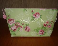 N�cessaire Floral GL(Plast por dentro)