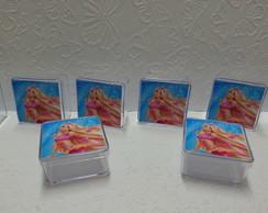 Caixinha De Acr�lico - Barbie
