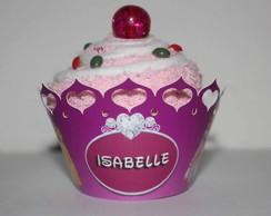 Cupcake de toalha de lavabo/ch� casa nov