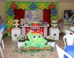 Decora��o festa Galinha Pintadinha