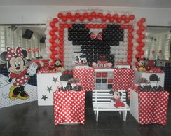 decora��o da minnie vermelha