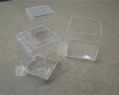 Kit 3 Potes Acr�lico Cristal