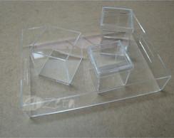 Kit Higiene Acr�lico Cristal