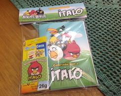 Mini Kit Colorir - Angry Birds