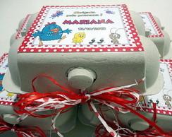 Caixinha de ovos personalizada (vazia)