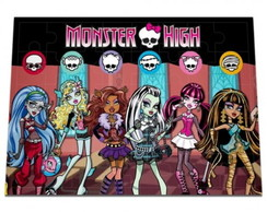 Quebra-Cabe�a Monster High