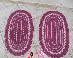 TAPETE OVAL  2 p�s