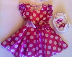 Vestido tem�tico Minnie Baby